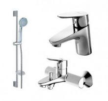 Комплект для ванной комнаты Bravat Drop 3 в 1