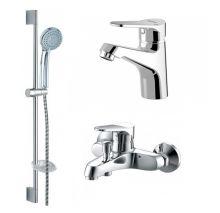 Комплект для ванной комнаты Bravat Eco 3 в 1