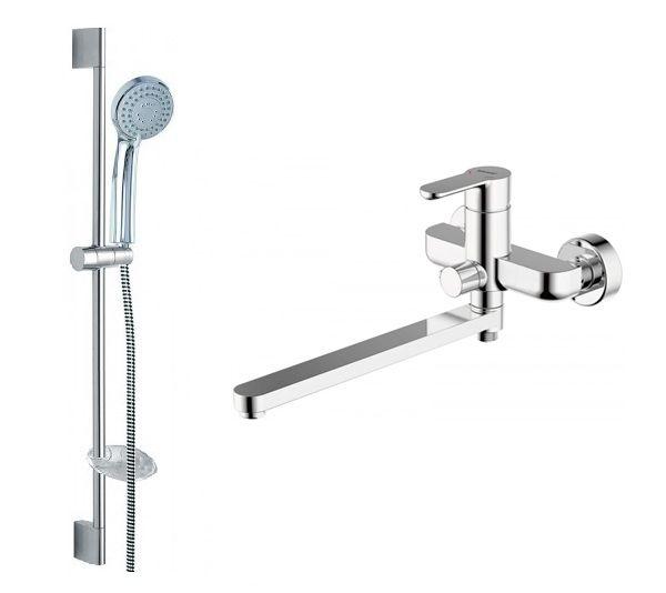 Комплект для ванной комнаты Bravat Stream 2 в 1