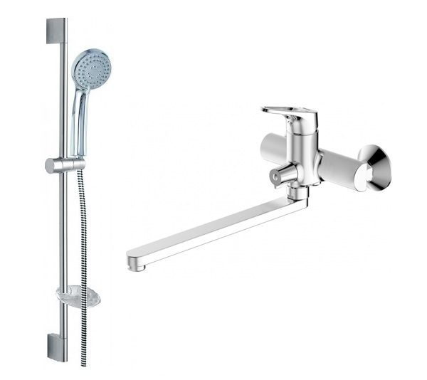 Комплект для ванной комнаты Bravat Drop-D 2 в 1