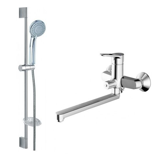 Комплект для ванной комнаты Bravat Eco-D 2 в 1