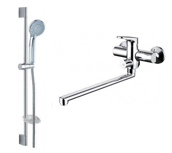 Комплект для ванной комнаты Bravat Eler 2 в 1