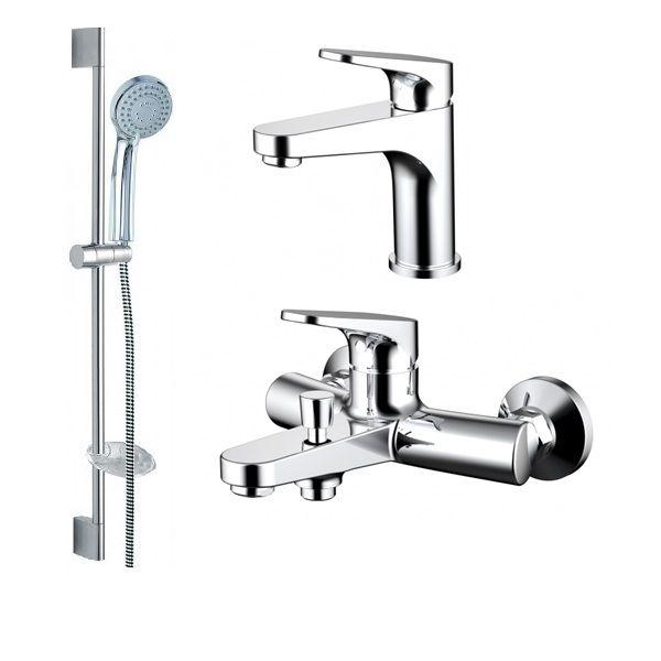 Комплект для ванной комнаты Bravat Eler 3 в 1