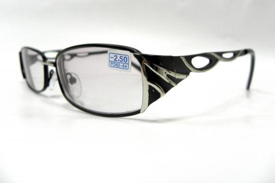 Готовые очки -2.50 Luna LZ 3006. Тонированные