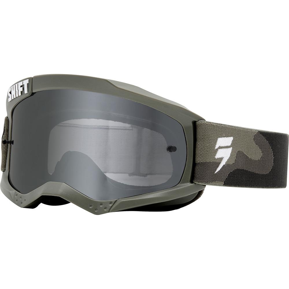 Shift - Whit3 Label очки, зеленые с зеркальной линзой