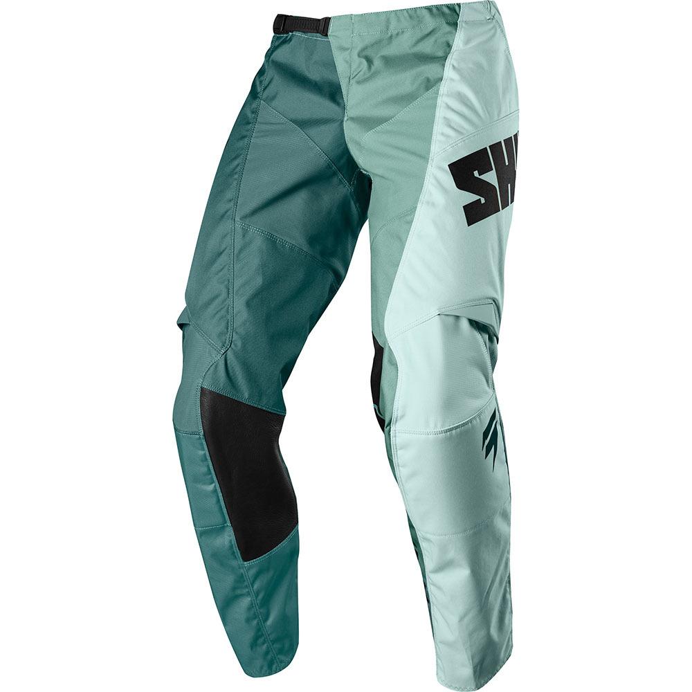 Shift - 2018 Whit3 Tarmac штаны, зелёно-синие