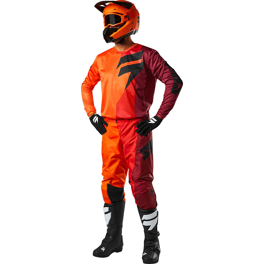 Shift - 2018 Whit3 Label Tarmac комплект джерси и штаны, оранжевый