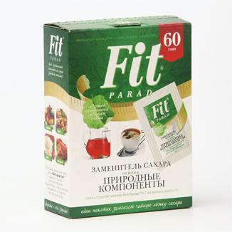 Заменитель сахара ФитПарад №7 саше 60 шт.