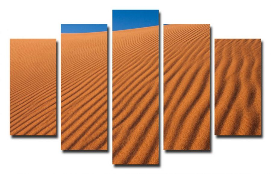 Модульная картина Песок