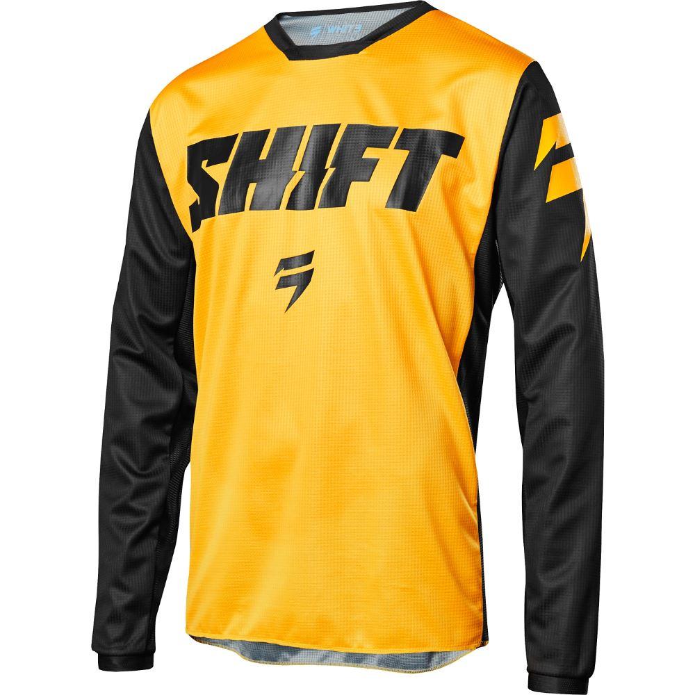 Shift - 2018 Whit3 Ninety Seven Youth джерси подростковая, желтое