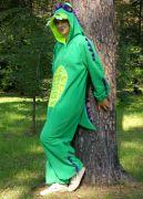 Свободный костюм кигуруми Дракон обеспечивает владельцу комфорт в любой ситуации.