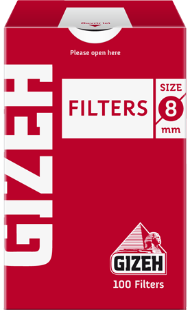 Фильтры сигаретные Gizeh 100