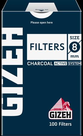 Фильтры сигаретные Gizeh Active Charcoal (угольный)
