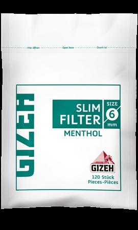 Фильтры сигаретные Gizeh Menthol 120