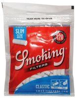 Фильтры сигаретные Smoking Slim Blue