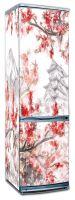 Наклейка на холодильник - Сакура | купить в магазине Интерьерные наклейки