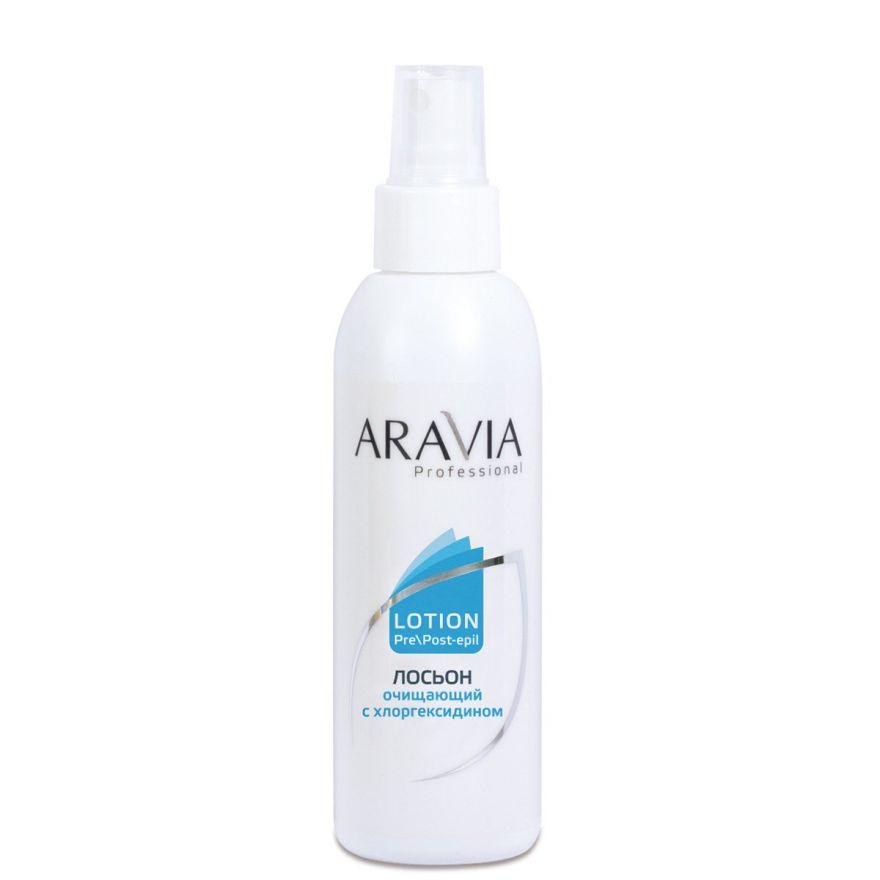 Лосьон очищающий с хлоргексидином ARAVIA Professional 150 мл