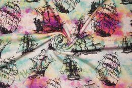 Корабли кулирка с лайкрой