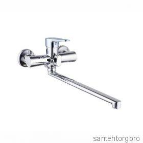 PUD-7146 Смеситель для ванны  длинный излив