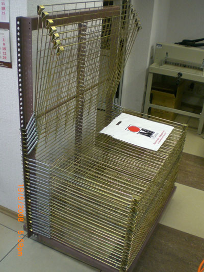 Стеллажи для сушки оттисков SH-65100