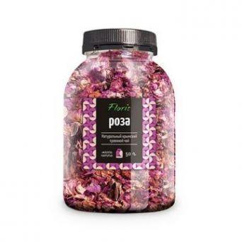 Крымский натуральный цветочный чай Роза (банка) 50 гр