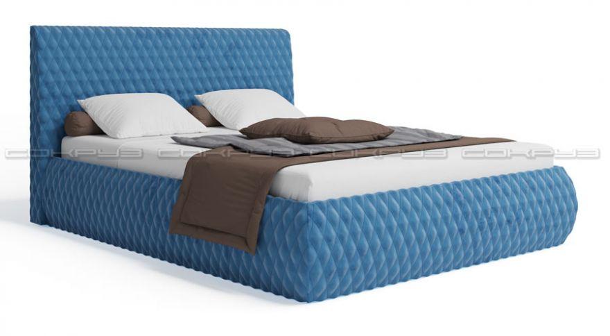 Мягкая кровать Марлен Вариант №4 , Сокруз