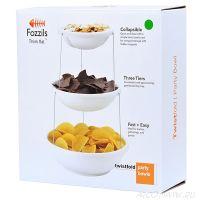 Складная пластиковая ваза для фруктов и снеков Twistfold Party Bowl