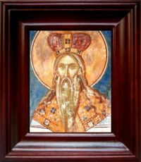 Аарон Первосвященник (21х24), простой киот