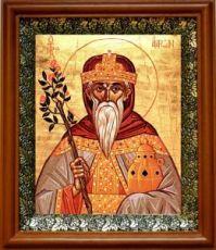 Аарон Первосвященник (19х22), светлый киот