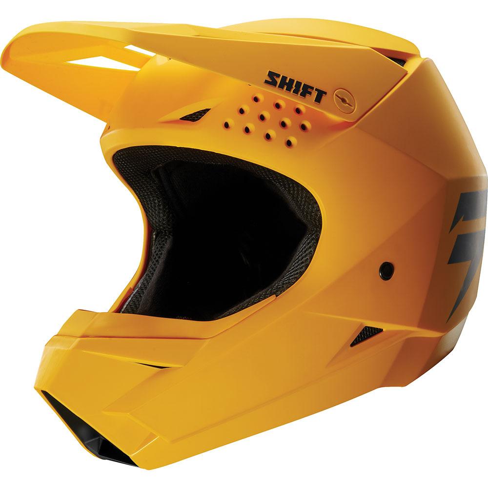 Shift - 2020 Whit3 шлем, желтый