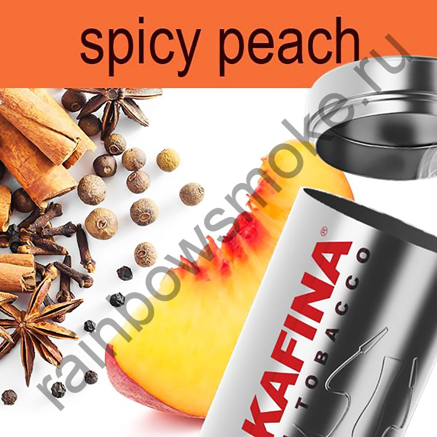 Hookafina Gold 250 гр - Spicy Peach (Пряный Персик)