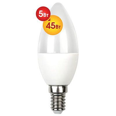 Лампочка светодиодная Dialog C37-E14-5w-3000k
