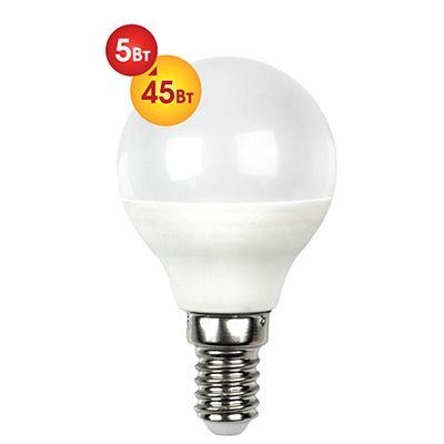 Лампочка светодиодная Dialog G45-E14-5w-3000k