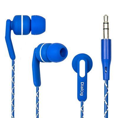 Наушники вакуумные EP-F15 BLUE Dialog синие