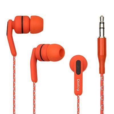 Наушники вакуумные EP-F15 RED Dialog красные