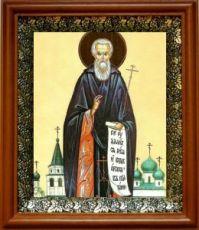 Авраамий Ростовский (19х22), светлый киот