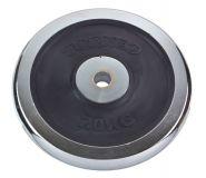 Блин Torneo хромированный с резиновой вставкой 20 кг 30 мм 1022-200X