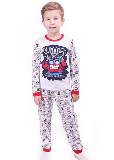 """Пижама для мальчика """"Морской стиль"""""""