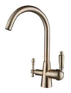 Kaiser 31744-3 Bronza Смеситель для кухни с выходом под питьевой фильтр