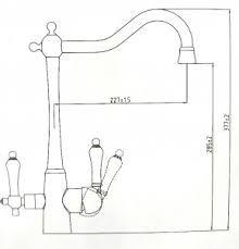 Kaiser 31844 Смеситель для кухни с выходом под питьевой фильтр