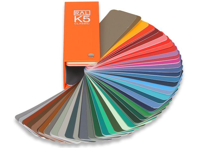 EuroMix Каталог цветов RAL-K5, размер 1 цвета 150мм. на 50мм.