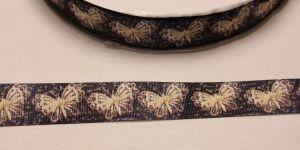 Лента репсовая с рисунком, ширина 25 мм, длина 10 метров, Арт. ЛР5572