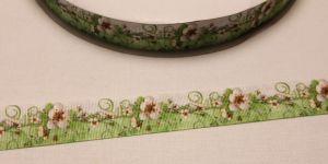Лента репсовая с рисунком, ширина 25 мм, длина 10 метров, Арт. ЛР5583