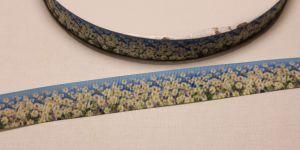 Лента репсовая с рисунком, ширина 22 мм, длина 10 метров, Арт. ЛР5584