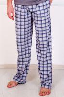 Мужские трикотажные брюки с карманами (серые), кулирка