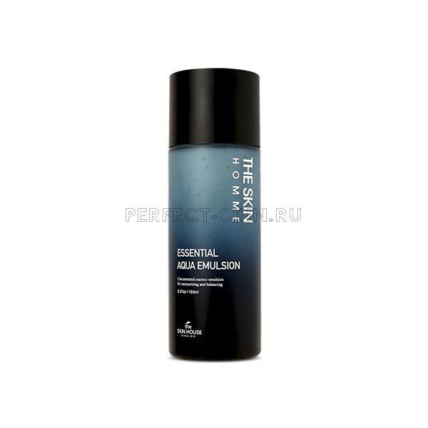 The Skin House Homme Essential Aqua Emulsion - Увлажняющая эмульсия для мужской кожи