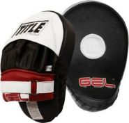 Лапы боксерские изогнутые Title Gel GCPPM