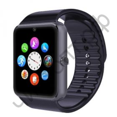 Smart часы (умные часы ) OT-SMG08 (WD-04 ) черный ( GSM SIM, microSD ) телефон, Bluetooth Андроид Айфон музыка камера фото видео голос. связь телеф.номер смс барометр шагомер датчик сна альтиметр приложения