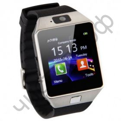 Smart часы (умные часы ) WD-05 (09) серебро ( GSM SIM, microSD ) телефон, Bluetooth Андроид Айфон музыка камера фото видео голос. связь телеф.номер смс барометр шагомер датчик сна альтиметр  и другие приложения