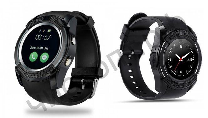 Smart часы (умные часы ) WD-10 черные ( GSM SIM, microSD ) телефон, GPS, Bluetooth Андроид музыка камера фото видео голос. связь телеф.номер смс шагомер датчик сна приложения